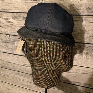 Genuine Burberry denim bucket hat! NWT!!